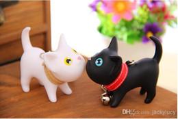 Llaveros amante del gato online-Precioso Meow Cat Doll Llavero de moda pvc Llavero llavero Amantes Estilos Recuerdos Llaveros de boda accesorios 2 unids / lo