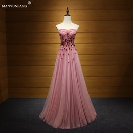 Wholesale Feather Wedding Dresses For Sale - Hot Sale Style Nigerian Long Bridesmaid Dresses Plus Size A Line Maid Of Honor Gowns For Wedding Crystals Sashes Turquoise Tulle Dress