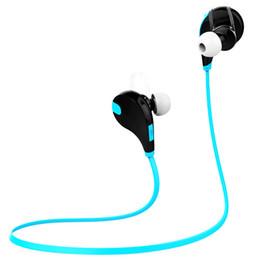 Argentina QY7 deportes auriculares inalámbricos bluetooth 4.1 EDR auriculares auriculares estéreo con micrófono llamada auriculares para todos los teléfonos PC Suministro