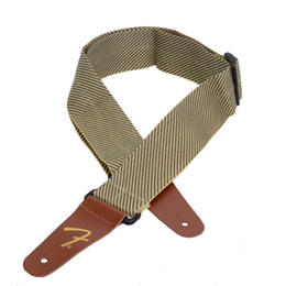 Wholesale High Quality Acoustic Guitars - High Quality Guitar Strap Real Leather Head For Acoustic Electric Folk Guitar MU0626