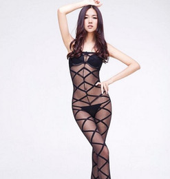Wholesale Cross Strap Tights - Sexy Black Women's Clothing Jumpsuits rompers Toning jumpsuits Thermal underwear straps tight cultivate one's morality Jumpsuit