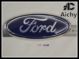 Wholesale front stickers - suit for Ford Fiesta 2009 ---2012 front emblem badge mark logo