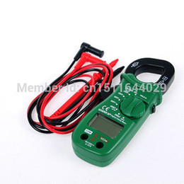 Wholesale Digital Clamp Meter Multimeters - High Quality Clamp Shape Electronic Multimeters Digital Clamp Meter W0647 with Free Shipping order<$18no track