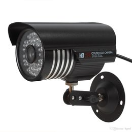 Wholesale Pal Definition - Time Limited Promotion! High Definition Waterproof Bullet Security Camera 1000TVL 6mm Lens 48-LED NTSC   PAL IR-CUTCCT_650
