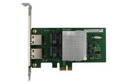 Ethernet express card онлайн-580T разъем PCIe Х1 двухпортовый гигабитный Ethernet оптические интерфейсы сетевая карта INTEL82580 рабочего стола I340T2 влан рос
