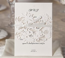 dropshipping wedding invitation charms uk free uk delivery on Wedding Invitation Charms Uk graceful charming hollow design wedding invitation cards cut out white flower personalized free shipping 50pcs lot uk wedding invitation charms uk