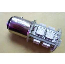 Wholesale H3 Led 5w - High Quality 1156 382 BA15S p21w 1157 BAY15D p21 5w bay15d PY21W led light bulb 13 smd 5050 Brake Tail Turn Signal Light Bulb Lamp 12V red