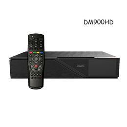 Wholesale Satellite Hd Tv Box - Model dm900hd 4k E2 DVB-S2 C T2 Tuner 4GB Flash 2GB RAM 2160p PVR Linux TV Satellite Receiver dm900 hd tv box