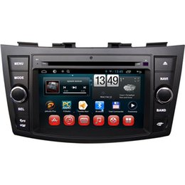 Wholesale Suzuki Swift Android - DC12V Car DVD Players Built in GPS Android Car DVD Players Fit for Suzuki Swift Ertiga 7 Inch Touch Screen Dual Core 7024A