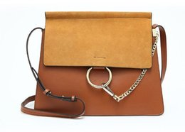 Wholesale Cloe Bag - Hot Sale Popular Fashion Brand Design Women Genuine Leather Cloe Bag High Quality Real Cowskin Shoulder Bag Chain Organ Bag