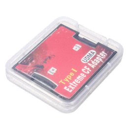 Wholesale Sd Xc - 2 Dual Slot Micro S D S D HC TF XC To Compact Flash CF Type I Memory Card Reader Adapter Connector