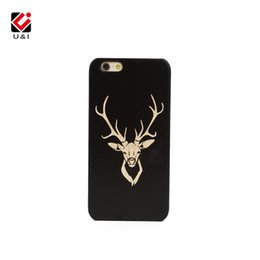 Wholesale Iphone Uv - UV Printing and Carving Wood Phone Case for iPhone 7 8 Cell Mobile Phone Cover for Apple 8 7 PC Cell Phone Cases