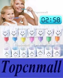 temporizadores de cepillado Rebajas Cepillo de dientes de los niños Cronómetro de temporizador Cara sonriente 3-Minute Sonrisa Reloj de arena Cepillo de dientes reloj de arena Reloj de arena Decoración del hogar TPML-0346