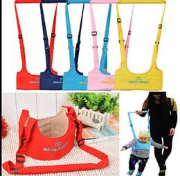Wholesale Safe Keeper - Infant Safe Walking Belt Adjustable Strap Leashes Baby Learning Walking Assistant Safety Wings Strap Harness Keeper Strap Belt KKA3196