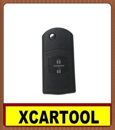 Wholesale Mazda Keyless Entry - car Auto key for Flip Remote Key 2 Button 433MHZ (with 4D63) for Mazda M6 M3