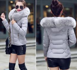 Wholesale Women Fur Winter Coats Xxl - Wholesale-winter jacket women down coat women's down jackets hiver cotton jacket female cotton-padded coat Winter Large Fur Collor XXL