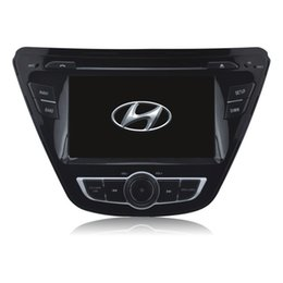 Wholesale Oem Mp4 Player - OEM car audio system for Hyundai Elantra (2014) with gps cd mp3 mp4 dvr reversing camera function car dvd