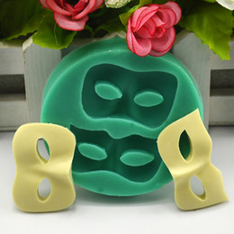 Wholesale Silicone Mold Halloween - Dance mask Halloween soap silicone mold fondant cake decorating tools chocolate candy 3d fondant mould cake topper