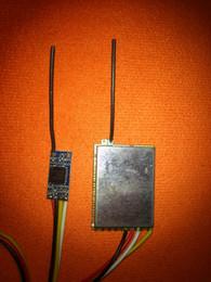 4ch аудио и видео 5.8 Ghz беспроводной передатчик с приемником 5.8 Ghz беспроводной аудио и видео отправитель от