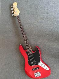Canada Basse 4 cordes Rouge JAZZ basse électrique Guitare HOT SALE 151105-1218 Offre