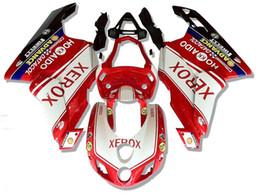 Iniezione Carene per Ducati 999 749 2005 2006 999/749 05 06 999 749 2005-2006 05 06 Carrozzeria ABS Plastica Parti del motociclo XEROX da