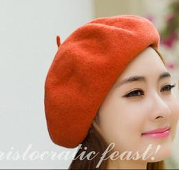 9b06a75e710 korean grey winter cap Promo Codes - Wholesale-Women cute Beret Cap
