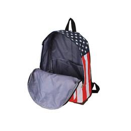 Wholesale Canvas Shoulder Bag Men Uk - Wholesale-Free Shippig 2015 Good School Bag Canvas US UK England USA Flag Punk BackPack Shoulder Bag Drop shipping