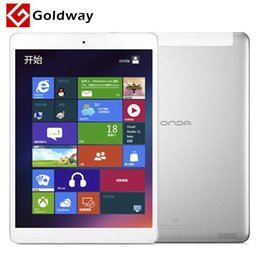 "Wholesale Retina Tablet Pc - Wholesale-Origianl Onda V975w 9.7"" Window 8.1 Intel z3735D Quad Core Tablet PC 2GB  32GB Retina Screen 2048*1536 Bluetooth HDMI"