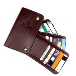 Wholesale Top Brand Bag Wholesale - Wholesale- 30 Business Card Holders Wallet For Men Women Top Quality Leather Multi Credit Card & ID Holders Case Brand Driving License Bag