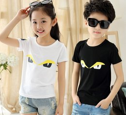 Wholesale Summer Children Cartoon Tees - Children summer T-shirt kids leisure clothing baby boys girls short sleeve cartoon t shirt kids tops tees