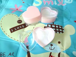 Wholesale Material Ring Jewelry - 24pcs LOVE heart Jewelry Pink Ring Box Carton Gift Packing box Nice children girl jewelry container boxes Ring package material tool
