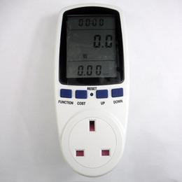Wholesale Energy Meter Monitor Electricity - Wholesale-UK plug in energy meter electricity monitor energy saving meter,power meter