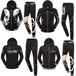 Wholesale Cbv Clothing - Wholesale 2017 New Men's Fashion Clothing Set Hoodies + Pants 2-Piece Sportswear Print CBV Men's Complete Sports Set Sportswear Hoodie
