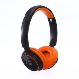 Wholesale Radio Player Wireless Headset - Hot New arrive Fashion ZEALOT B-370 bluetooth headphones earphone headset suppout TF card and FM radio Mp3 player with mic