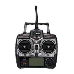 Wholesale v911 rc - 100% Original Wltoys WL-R7 2.4GHz 4CH RC Transmitter for Wltoys V911S V911 V912 V913 V929 V939 V949 V959 RC Helicopter Part order<$18no trac