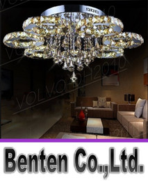 Wholesale Luxurious Lamp - llfa1415 luxurious decorative art modern style home restaurant k9 lustre crystal chandelier light fixture lighting ceiling light lamps