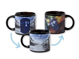 Wholesale Free Pottery - 2015 high quality Doctor Who's Disappearing Tardis Mug   Ceramic water cup   Doctor who's theme mugs DHL free shipping