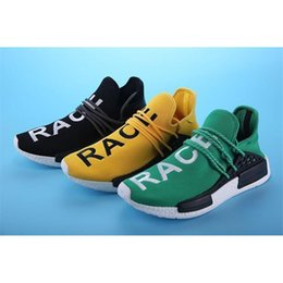 Wholesale Art Williams - 2016 New Human Race Pharrell Williams X NMD Sports Running Shoes Discount Cheap Athletic Men Outdoor Boost Sneaker Shoes High Quality