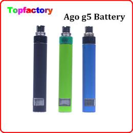Wholesale Ago Blister Kit - Wholesale Electronic cigarette Evod Mini ago blister starter kit e cigarette ego evod battery e cig dry herb mini ago g5 vaporizer pen vap
