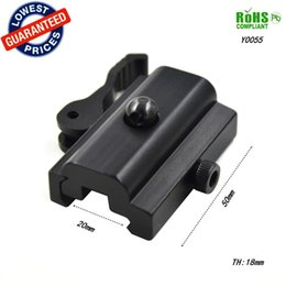 Wholesale Weaver Picatinny Adapter Sling - Y0055 QD Quick Detach Cam Lock Bipod Sling Adapter Mount for Picatinny Weaver Rail 20mm Bipod or Sling Swivel Airsoft or Paintball