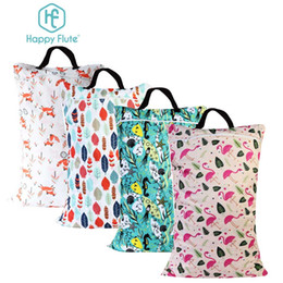 Wholesale Bag For Cloth Diaper - Happy Flute 1 Pcs Large Hanging Wet  Dry Pail Bag For Cloth Diaper ,Inserts ,Nappy ,Laundry With Two Zippered Waterproof ,Reusable