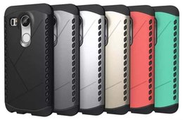 Wholesale Nexus Hybrid - Armor Hybrid Diamond TPU + PC Hard Case Heavy Duty Ballistic For Samsung Galaxy S6 Edge Plus LG Nexus 5 5X 2015 Angler H79 skin Cover luxury