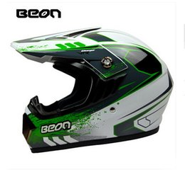 Wholesale Helmet Size Xl - Authentic Netherland BEON Motocross motorcycle helmet top quality knight off road motorbike safety helmet made of ABS B-600 size M L XL