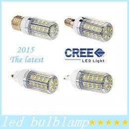 Wholesale G9 Energy Saving Bulbs - 9W GU10 E27 E14 G9 SMD LED bulbs light 360 degree warm cool white 36pcs 5630 SMD energy saving LED spotlights 110V- 220V