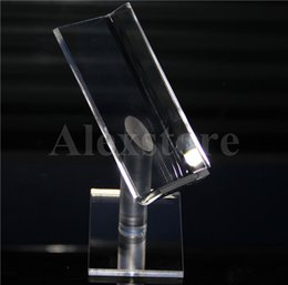 Wholesale abs kits - Acrylic display box shelf stands clear cases ego holder rack for RDA RTA atomizer kit ABS Surpass Nookie Castigador box mod ZNA DNA Ecig DHL