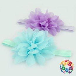 Wholesale Cheap Wholesale Sweats - (02) 2015 Stunning Boutique Baby Party Headband Sweat Flower Headband For Kids Cheap Knit Headband With Flower Headwear Manufacturer