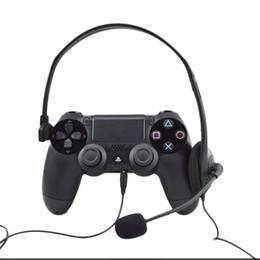 Jeu vidéo ps4 en Ligne-1 pc Over-ear filaire écouteurs casque casque de jeu pour pc joueur de jeu vidéo pour Playstation pour PS4 avec VOL nouvelle arrivée