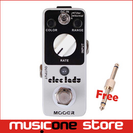 Wholesale Electric Filter - Mooer Eleclady Analog Flanger Pedal Classic analog flanger sound with filter mode and oscillator effects Full metal shell Truebypass MU0343