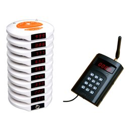 Wholesale Wireless Waiter Call System - Waiter service calling pager,wireless ordering system,queue calling system,pager,Guest waiting system Table buzzer