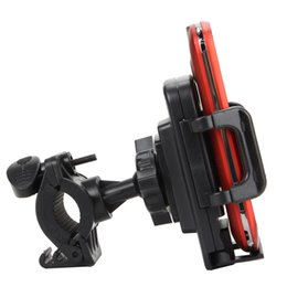 Wholesale Pda Clip - 100% Guarantee Universal Bicycle Bike Phone Mount Clip Holder Cycling Motorcycle Cradle Stand for PDA Smart Cell phone GPS Hot